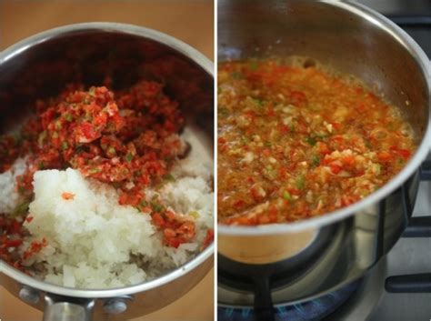 how to make sofrito how to make sofrito red pepper sofrito recipe feed me phoebe