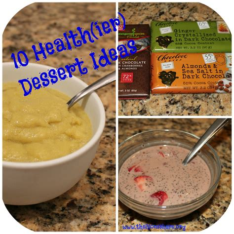 healthiest dessert options 10 healthy dessert ideas