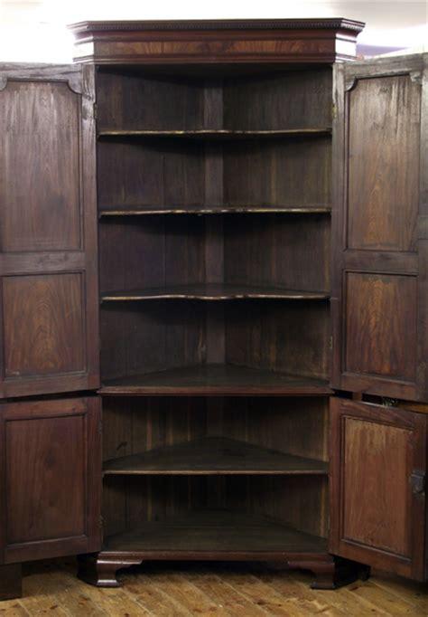 antique corner cupboard georgian corner cupboard antique