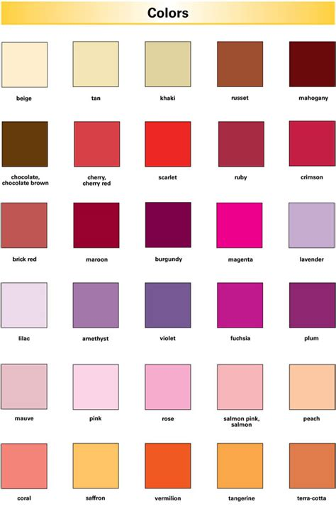 define tone color vermilion definition for language learners from