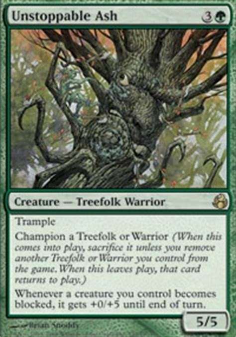 Mtg Green Treefolk Deck by Starting Treefolk Deck Forum