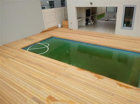 Pool Decking Cape Town   Garapa Wood 3 » Cape Decking