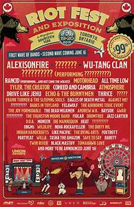 January 2020 Calendar For Kids Riot Fest Announce Toronto Lineup More To Come June 16th