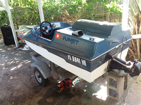 Mini Jet Boat Controls by Funjet Mini Jet Boat 1987 For Sale For 849 Boats From