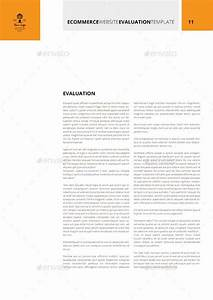 ecommerce website evaluation template by keboto graphicriver With site evaluation template