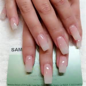 Long Acrylic Nails Clear