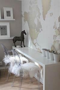 le poster carte du monde geante vous donne envie a voyager With couleur qui donne envie de manger
