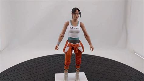 Portal 2 Chell Action Figure Reissue By Neca Youtube
