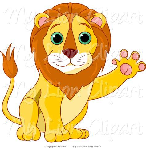 lion clipart african animal pencil   color lion