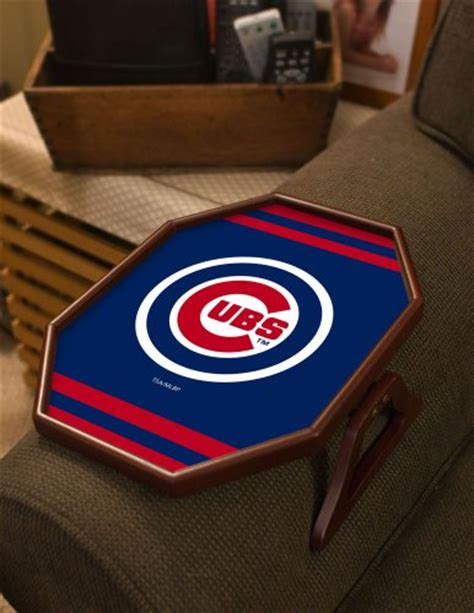 chicago cubs table l chicago cubs armchair catcher tray table furniture sofas