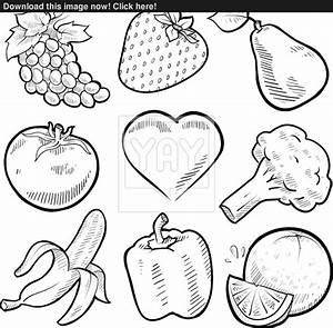 Black And White Fruit Pictures to Pin on Pinterest - PinsDaddy