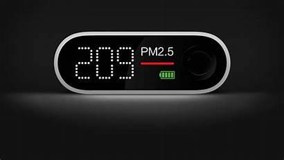 Pm2 Air Smartmi Detector Sensitive Screen Portable