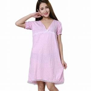 Aliexpress.com : Buy Women Nightgowns Feme Sleepshirt ...