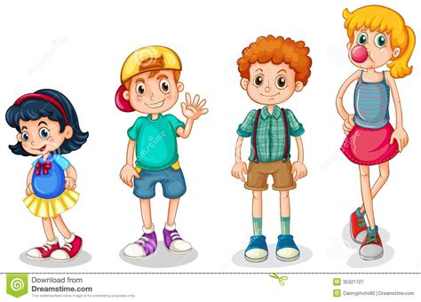 Spielendes Comic by Child Clipart Four Pencil And In Color Child Clipart Four