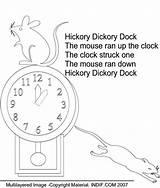 Dickory Hickory sketch template