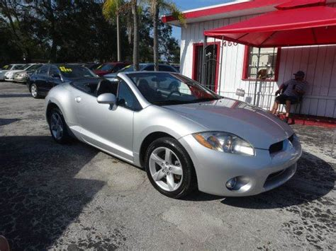 2007 Mitsubishi Eclipse For Sale by 2007 Mitsubishi Eclipse Spyder For Sale Carsforsale