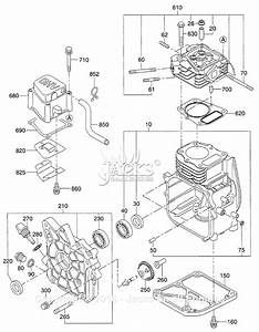 Robin  Subaru Eh09 Parts Diagram For Crankcase Parts