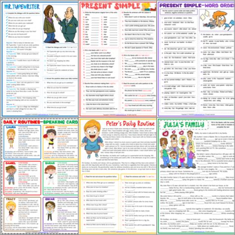 esl printable worksheets  english exercises