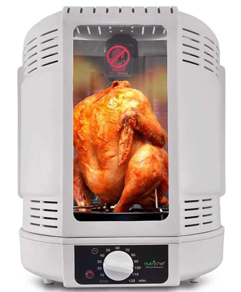 Rotisserie Chicken In Toaster Oven by Nutrichef Kitchen Vertical Countertop Rotisserie Rotating