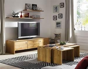 Massivholz TV Lowboard TV Mbel Kommode Kernbuche