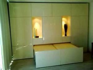 Schrankbett 160x200 Gebraucht : hocks holzwerkstatt schrankbett elektrisch 2 youtube ~ Orissabook.com Haus und Dekorationen
