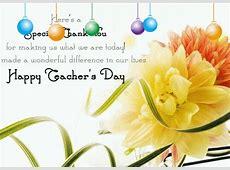 Special Thank You,My Teachers Free Teachers' Day eCards