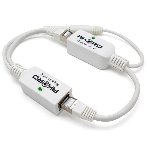 Gigabit Poe Passive Power Over Ethernet Adapter Injector