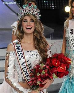 Mariam Habach crowned Miss Venezuela in Caracas- China.org.cn
