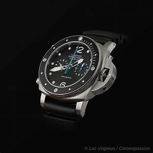 PANERAI SUBMERSIBLE FLYBACK PAM00615 from officine panerai ...