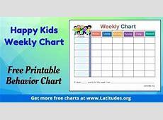 Printable Behavior Bucks On Word Chart Weekly Planner For