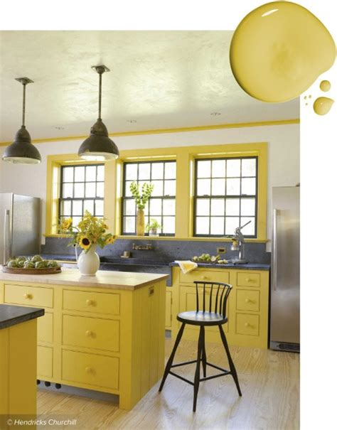 yellow kitchen colors 20 trending kitchen cabinet paint colors 1215