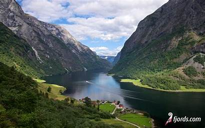 Fjords Sogn Norway Wallpapers Norwegian Naeroeyfjord