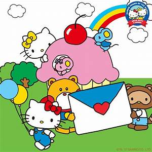 Today is a very special day! It's Hello Kitty & Mimmy's ...