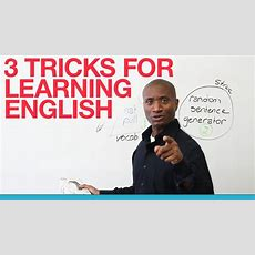 3 Tricks For Learning English  Prepositions, Vocabulary, Structure Youtube