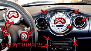 Mini Cooper Dashboard Lights  Buttons  U0026 Switches Explained