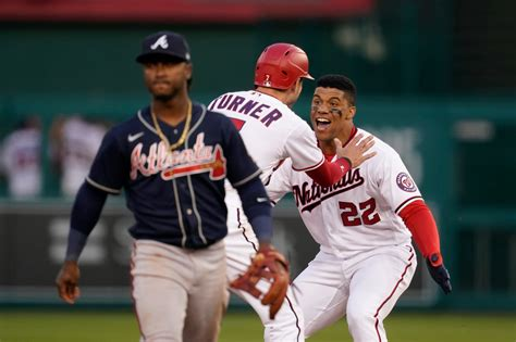 Nats finally play, beat Braves 6-5 on Soto's walk-off in ...