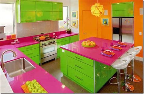 green and orange kitchen ideas green pink and orange kitchen kitchen design 6922