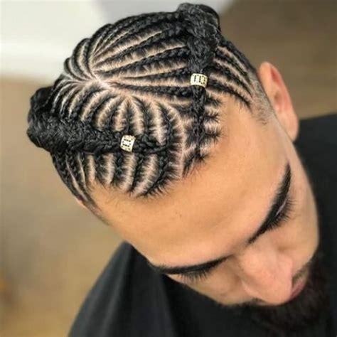 popular braids  men    wear