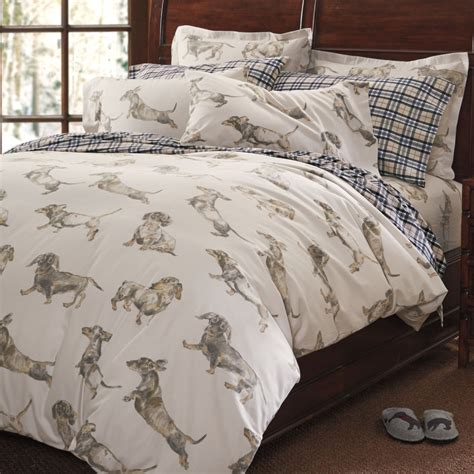 Dachshund Print Bed Sheets Dog Puppy Love Pinterest Bed
