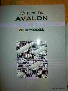 2006 Toyota Avalon Electrical Wiring Diagram Shop Service