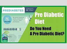 Do You Need A Pre Diabetic Diet? YouTube