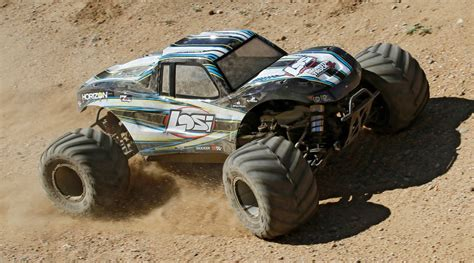 15 Monster Truck Xl 4wd Gas Rtr With Avc, Black