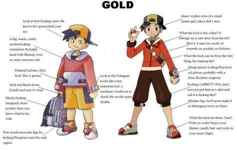 Gen II's Ethan (Gold): then and now : pokemon