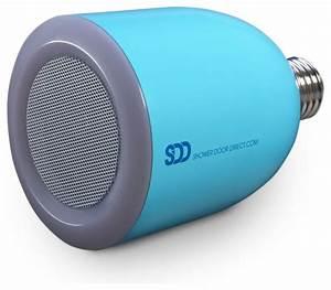 Bulbtunes led light bulb with bluetooth speaker modern for Best bluetooth speaker for bathroom