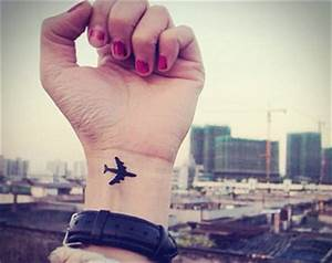 Airplane Tattoo Images & Designs