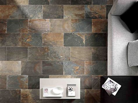 Unicom Starker has recreated Natural Slate in porcelain