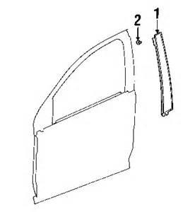watch more like saturn parts list saturn ion coupe front door exterior trim applique saturn parts net