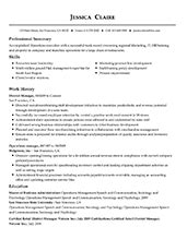 Professional Resume Format by Free Professional Resume Templates From Myperfectresume