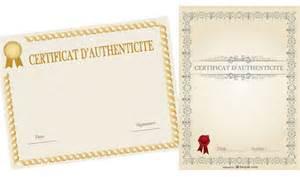 le certificat d authenticit 233 en 7 points amylee