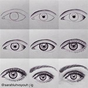 How to draw eyebrows and eyelashes   Paintings   Pinterest ...